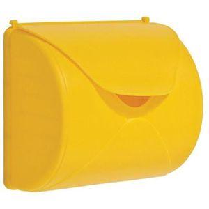 boite aux lettres jaune achat vente boite aux lettres jaune pas cher cdiscount. Black Bedroom Furniture Sets. Home Design Ideas