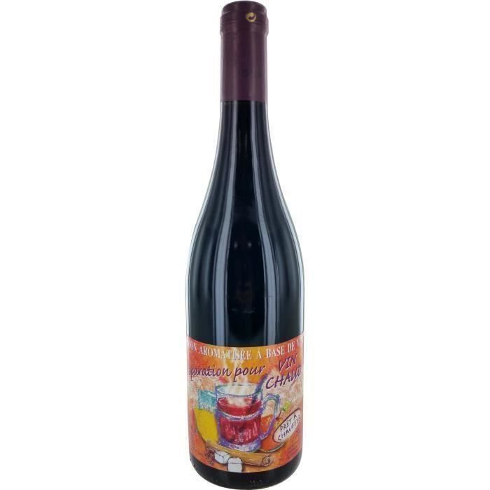 Vin arômatisé à base de vin - Préparation pour vin rouge