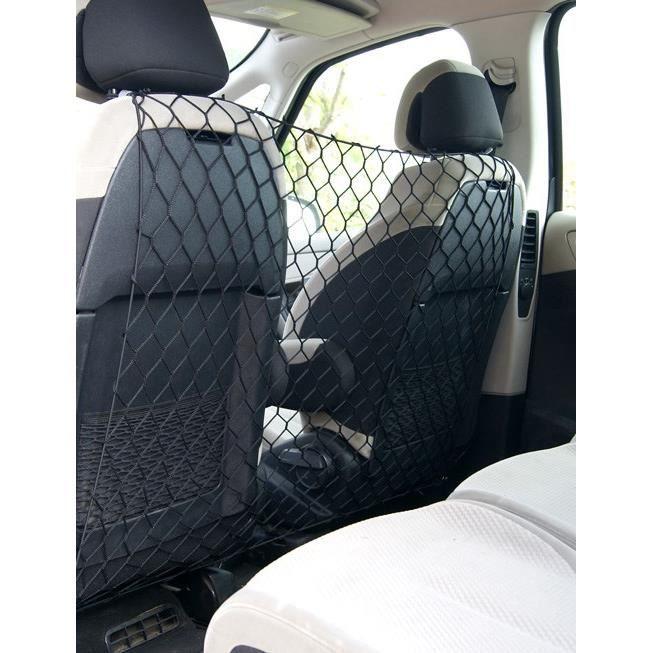 ANIMALS&CAR Filet de séparation sièges AV/AR 90x70cm