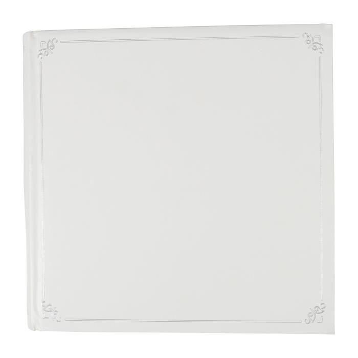 OSTARIA Album photos carré - Motifs Louison - 500 Vues - Blanc