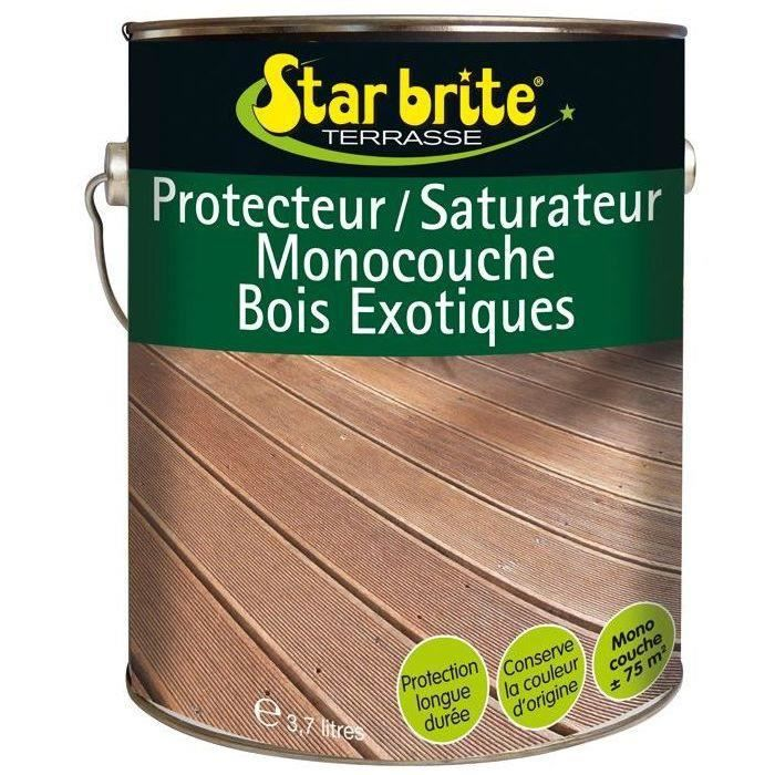 Saturateur / protecteur bois exotique 3.7l