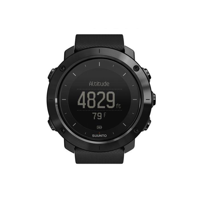SUUNTO Montre GPS Traverse Sapphire - Mixte - Noir