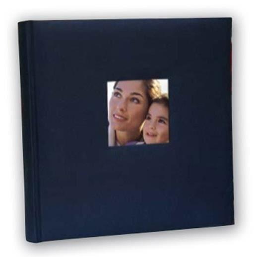 ZEP Album photo traditionnel Cotton 60 pages - 31x31 cm - Bleu
