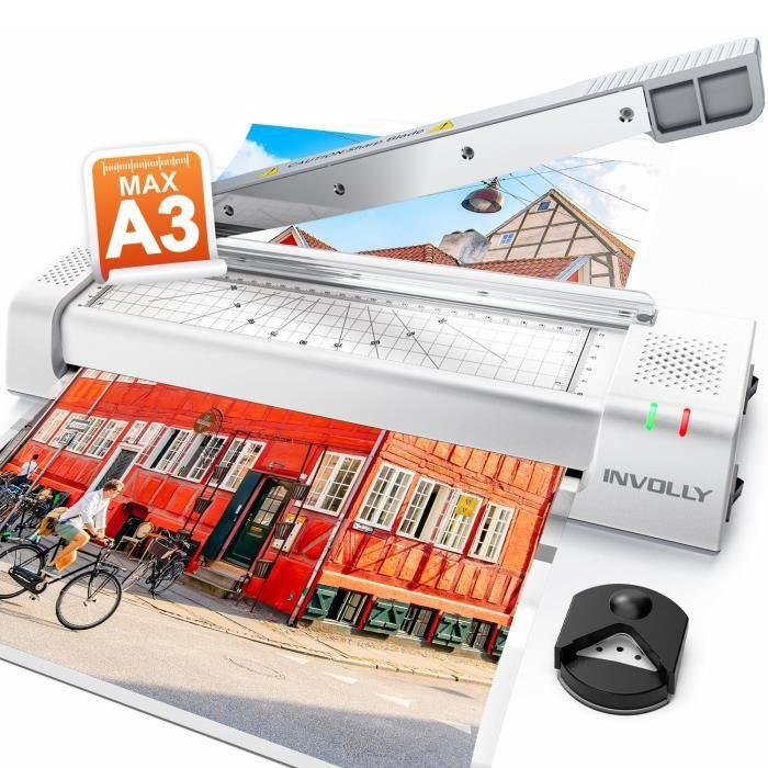 ABOX Plastifieuse A3 A4 A5 A7 Machine Plastifier Chaud Et Froid Pour LUsage Bureautique Domestique