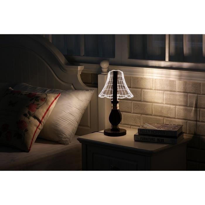 Chevet Dimmable Vintage Eclairage Lumière Style Enfant Chambre Veilleuse Pour Déco Table Cittatrend Lampe De Nuit Bureau Lecture Led sQrxdCht