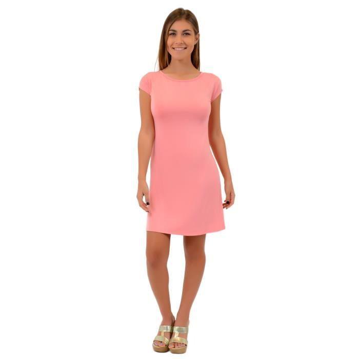 Craze robe de genou solide banquet du parti mince manches longues crayon robe moulante R9P23