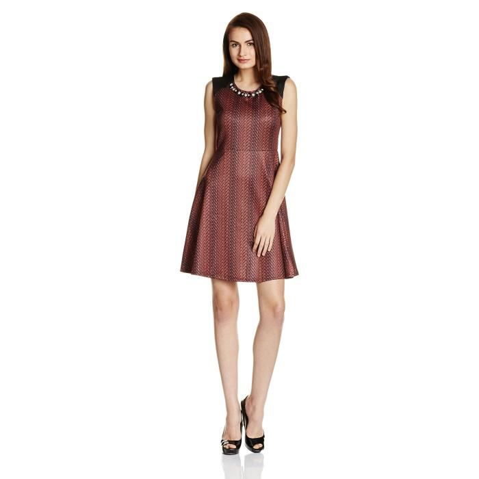 Femmes Robe patineuse NHSXZ Taille-36