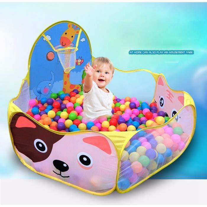 Piscines balles rose avec panier achat vente piscine for Piscine a balle pour bebe