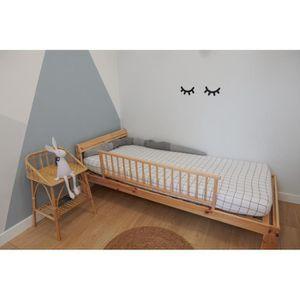 barri re de lit b b achat vente barri re de lit b b pas cher cdiscount. Black Bedroom Furniture Sets. Home Design Ideas