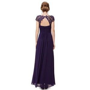 db35a1302 Robe de soirée violet - Achat / Vente pas cher - Cdiscount