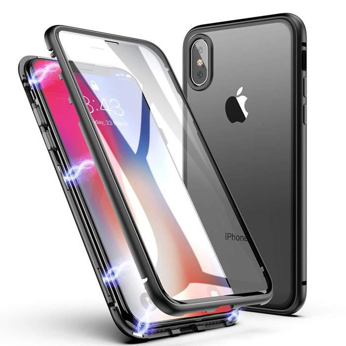 coque iphone xs en verre