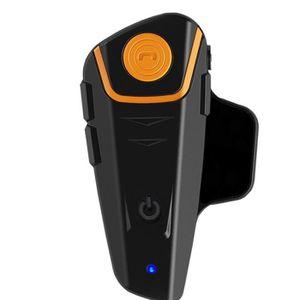 PHARES - OPTIQUES tenoens® Bluetooth 1000m BT Casque de moto A2DP Pa