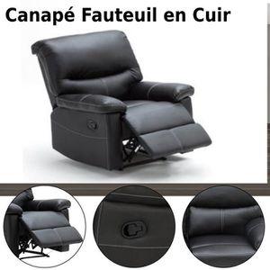 FAUTEUIL Chaises de canapé une place Fauteuils salon Canapé