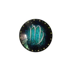 AIMANTS - MAGNETS 12 Constellations verre Colle signe Motif dôme en