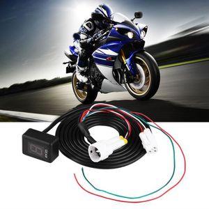 AFFICHAGE PARE-BRISE Gear Indicateur de vitesse numérique de moto ECU 6