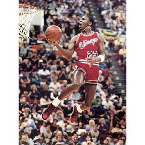 AFFICHE - POSTER Photo Michael Jordan basketball (Dimensions : 10 x