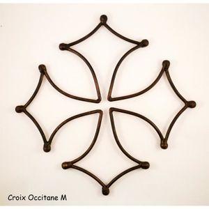 OBJET DÉCORATION MURALE Croix occitane M