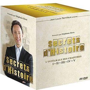 DVD DOCUMENTAIRE SECRETS D'HISTOIRE L'INTEGRALE CHAPITRES 1 A 5