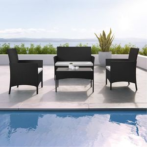 Petite table de jardin plastique - Achat / Vente pas cher -