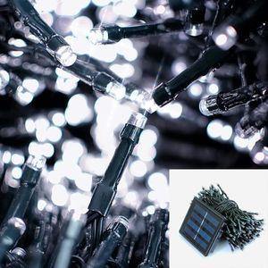 GUIRLANDE D'EXTÉRIEUR 12M 100 LED Guirlande lumineuse exterieure solaire