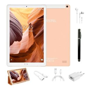 TABLETTE TACTILE Tablettes-10.1 pouces-Android 8.0-4G LTE YESTEL X2