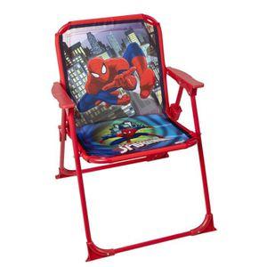 chaise spiderman achat vente jeux et jouets pas chers. Black Bedroom Furniture Sets. Home Design Ideas