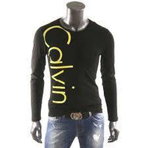 T-SHIRT T-Shirt Calvin Klein Jeans Homme Manche Longue