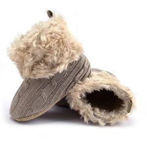 BOTTE Bébé garder chaud chaussures de bébé hiver tendanc