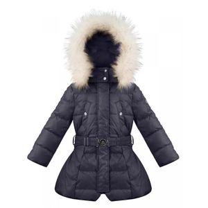 Manteau ski femme poivre blanc
