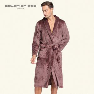 b21eb95b9eca1 PYJAMA Peignoir de Bain Homme Luxe Doux Peignoir Robe De