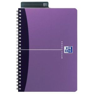 FEUILLET MOBILE OXFORD Cahier reliure intégrale - A5 - 100 pages -