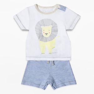 a0d445d3a73f0 Ensemble de vêtements ESPRIT Ensemble T-Shirt et Short Blanc Bébé Garçon