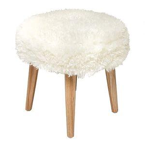 tabouret fourrure achat vente tabouret fourrure pas. Black Bedroom Furniture Sets. Home Design Ideas
