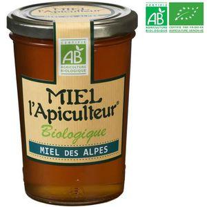 MIEL Pot de Miel des Alpes Bio - 500g