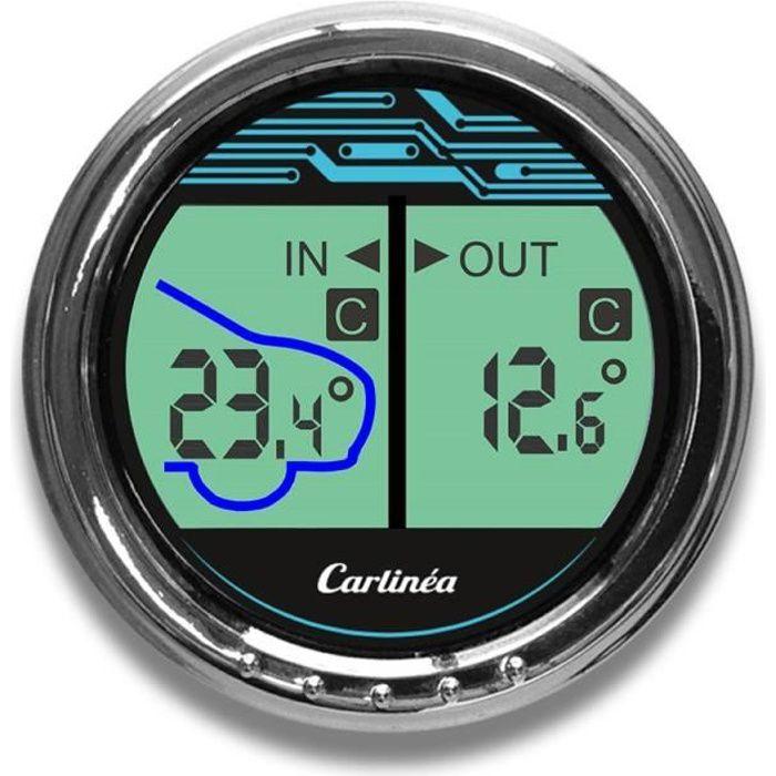 Thermomètre intérieur/extérieur