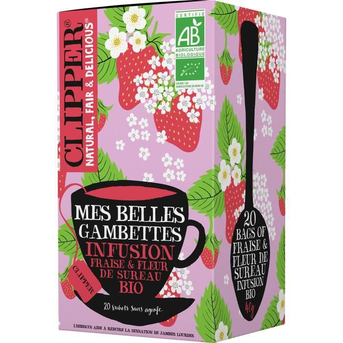 CLIPPER Infusion Mes Belles Gambettes Bio 40g