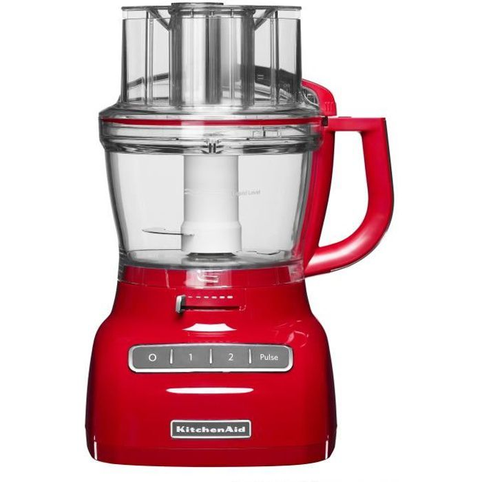 KITCHENAID 5KFP1335EER Robot multifonctions 3 L - Rouge empire