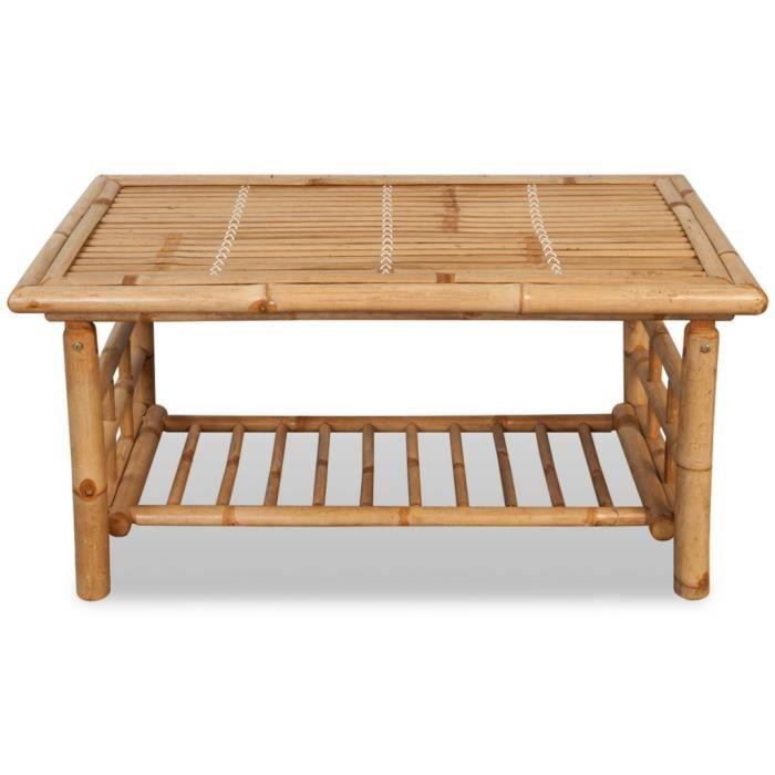 table bambou achat vente table bambou pas cher soldes d s le 10 janvier cdiscount. Black Bedroom Furniture Sets. Home Design Ideas
