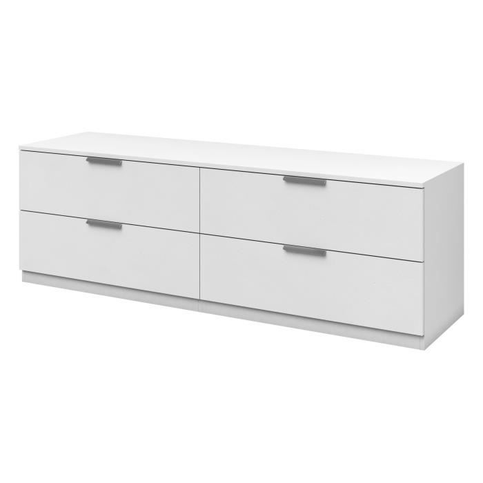 free billund commode de chambre style mlamin blanc l cm with but commode 4 tiroirs - Commode Chambre But