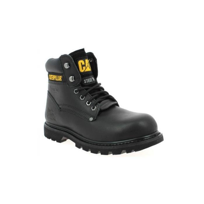 be28b1a0e575e3 Chaussure Caterpillar Sheffield Noir - Achat / Vente bottine ...