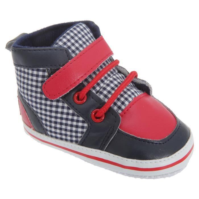 Chaussures à lacet et sangle scratch - Bébé garçon