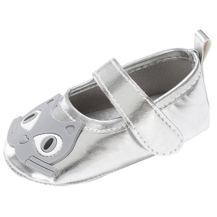 Chaussures Bébé Garçon Fille de Marche Animal Premier Pas Nouveau-né (0-1an)