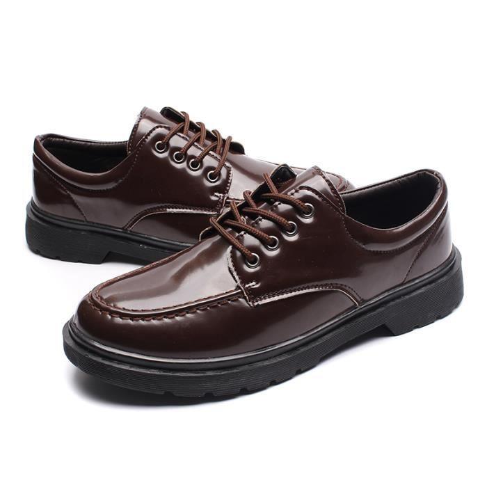 Men Business Shoes for Man Chaussures en cuir pour hommes Chaussures Casual Oxford plqObB