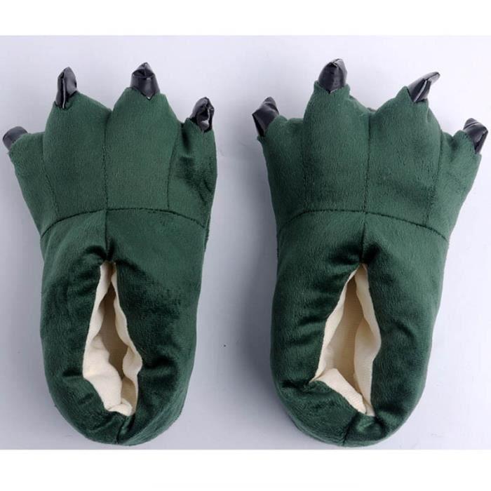 Chaussons Pantoufles Homme-Femme pour Adultes Chaussures D'hiver Chaudes