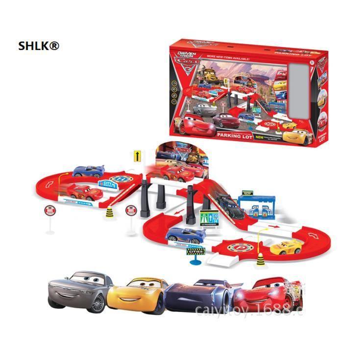 Montage Enfants Shlk® Puzzle 3 Avec Parking Cars Jouets De Piste wXZN80PknO