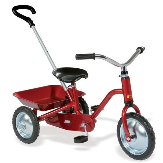 TRICYCLE SMOBY Tricycle Jockey Classique Rouge