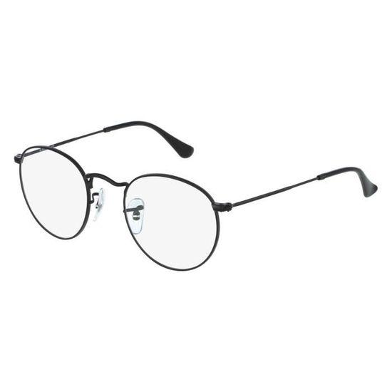 37d143d6d80cc2 Lunettes de vue Ray Ban RX3447V -2503 Noir mat Noir - Achat   Vente lunettes  de vue Lunettes de vue Ray Ban R... Homme - Cdiscoun