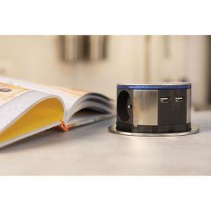 excellent bloc escamotable compact led prises pt x us with bloc prise cuisine ikea. Black Bedroom Furniture Sets. Home Design Ideas