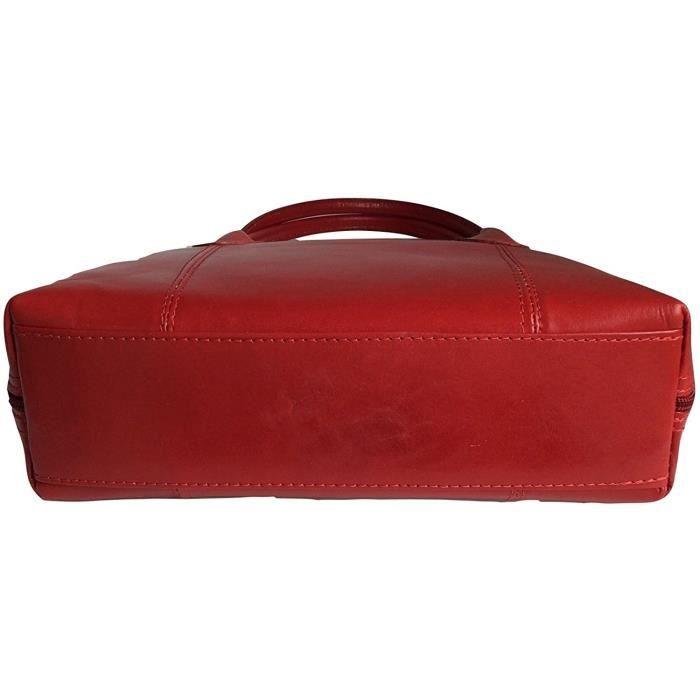 Sac ou épaule Sac italien classique en cuir lisse brillant style fourre-tout Grab JSZLY