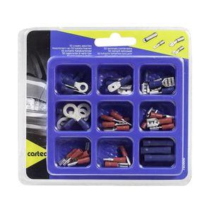 CARTEC Boîte de 50 cosses assorties